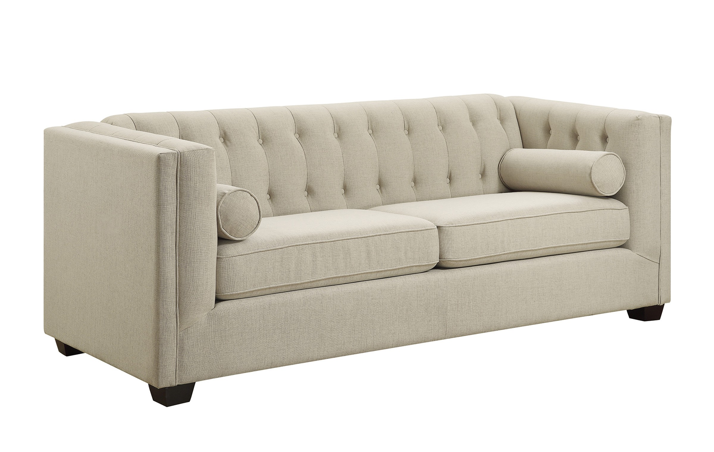 Cairns Transitional Oatmeal Linen Sofa Oc Homestyle Furniture ~ What Is A Transitional Sofa