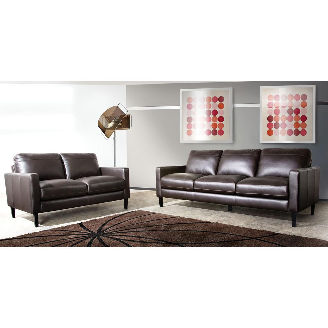 Omega 100 Genuine Top Grain Leather Sofa Oc Homestyle Furniture