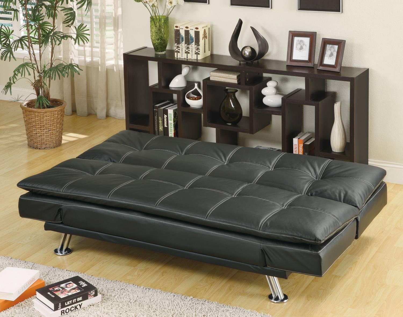 Black Futon Sofa Bed Oc Homestyle
